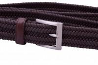 brown braided