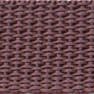 Brown polypropylene webbing