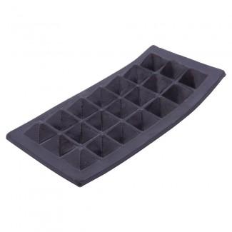 Black plastic luggage tab
