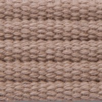 Buff ribbed cotton webbing