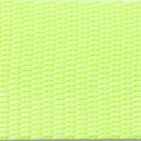 Neon yellow nylon webbing