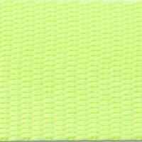 Neon yellow nylon webbing