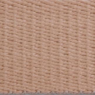 RETWFA Tan Acrylic Surcingle Weave Webbing
