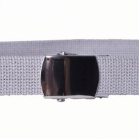 Grey webbing belt
