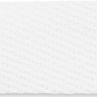 White woven cotton webbing