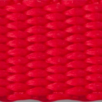 Red nylon webbing