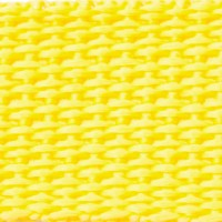 Yellow polypropylene webbing