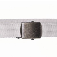 Natural cotton webbing belt