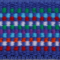975IW Blue Multi Elastic