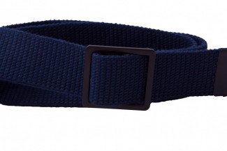 blue webbing belt