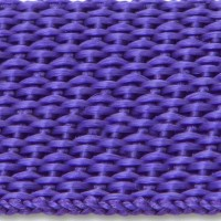 Purple polypropylene webbing