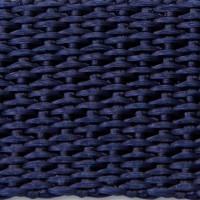 Navy polypropylene webbing