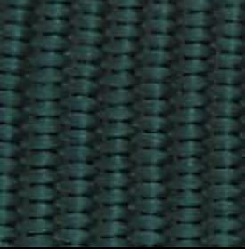 Hunter Green Woven Nylon Webbing
