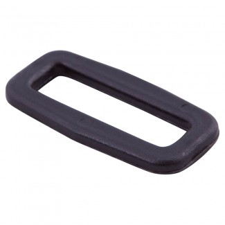 Black plastic loop
