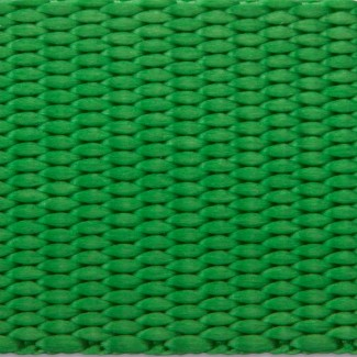 Green nylon webbing