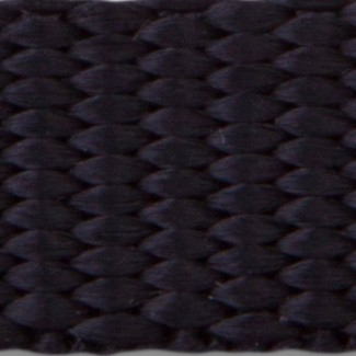 Black nylon webbing