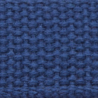 6LL Navy Mid-weight Cotton Webbing