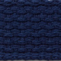 Navy Cotton Webbing