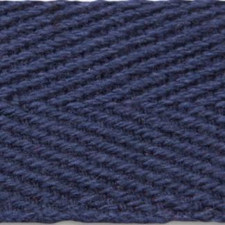 Navy herringbone apron tape cotton webbing