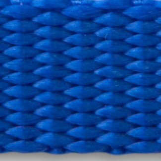 Royal blue nylon webbing