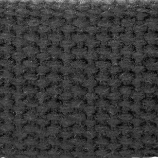 Charcoal cotton webbing