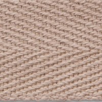 3650 Buff Herringbone Cotton Apron Tape Webbing