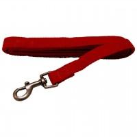 AL Saffron Dog Leash, 3/4-Inch by 5-Feet Organic Cotton Leash