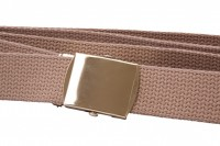 Buff webbing belt