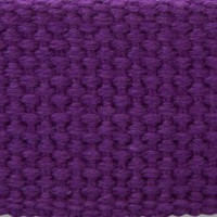 purple cotton webbing