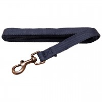 AL Heather Dog Leash, 1-Inch by 5-Feet Organic Cotton Leash