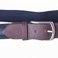 blue polyester webbing belt