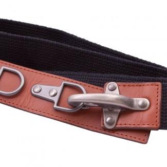 Black webbing belt