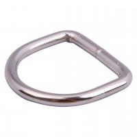 Steel Nickel D Ring