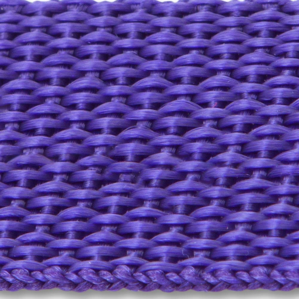 604 Purple Lightweight Woven Polypropylene Webbing