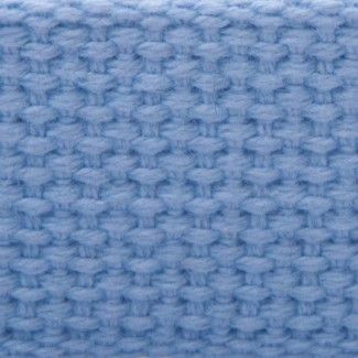 Pastel blue cotton webbing