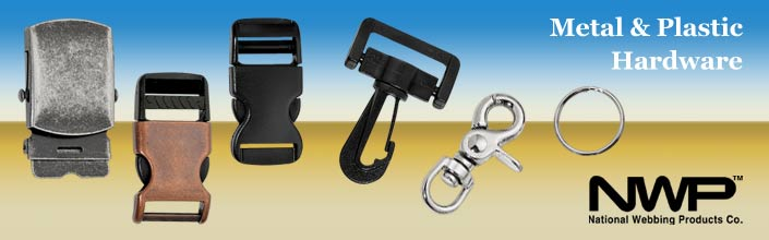 metal buckles and plastic buckles