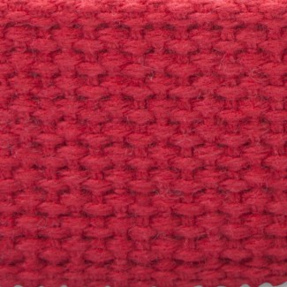 6L Red Heavy-weight Cotton Webbing