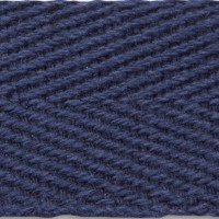 Navy herringbone apron tape cotton webbing