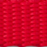 Red nylon webbing