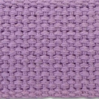 Lilac cotton webbing