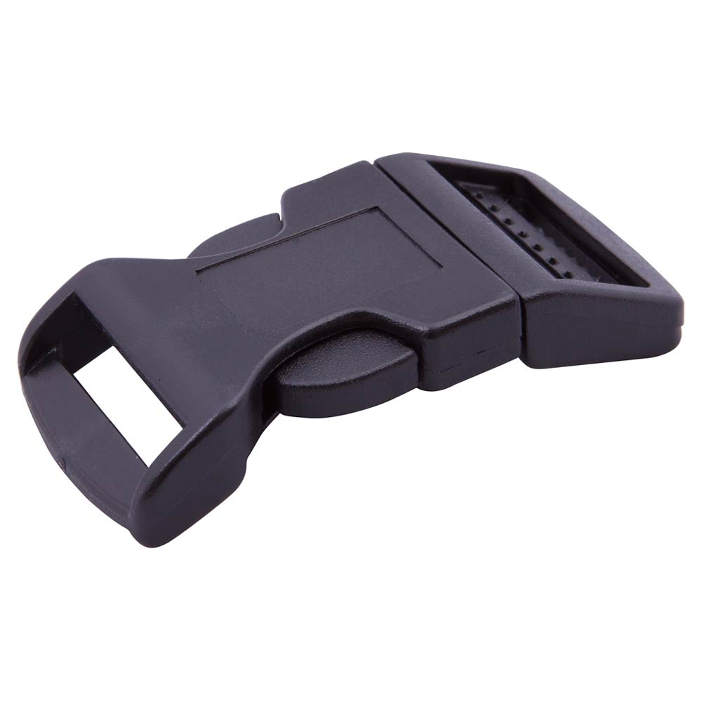 Csr Black Plastic Contoured Side Release Buckle National
