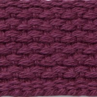 Maroon cotton webbing
