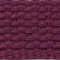Maroon cotton webbing
