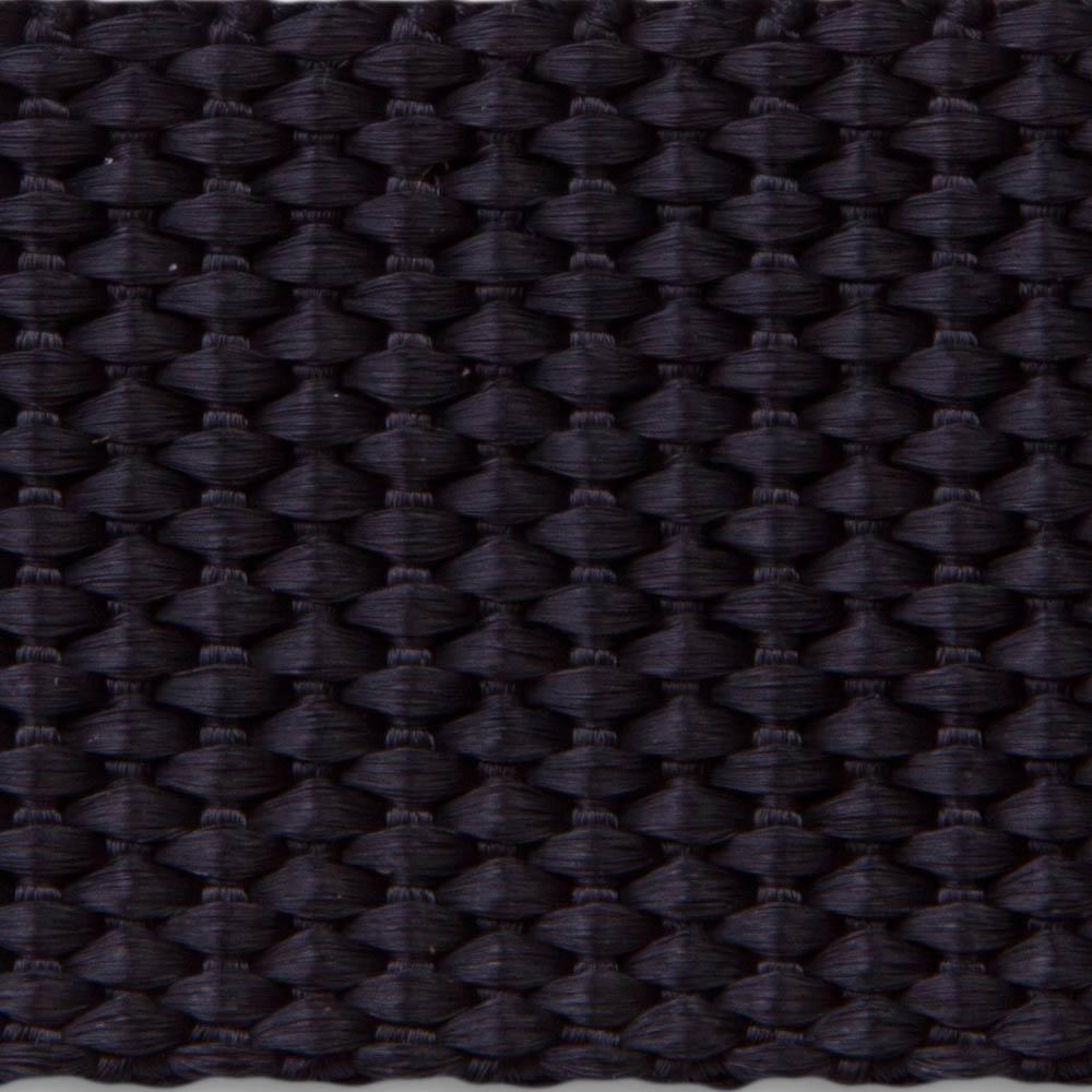 656 Black Heavyweight Woven Polypropylene Webbing