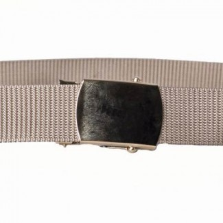 Khaki military belt
