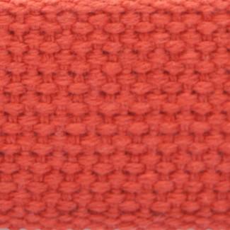 Orange cotton webbing