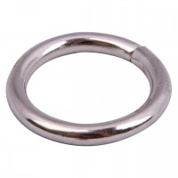 860 Non-Welded Nickel D-Rings