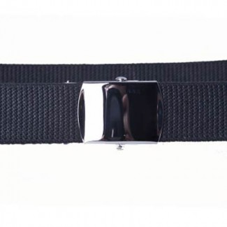 Black military belt